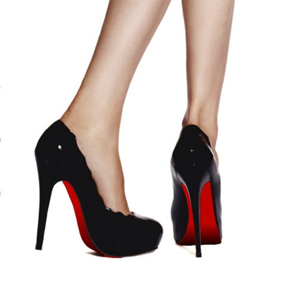 bas prix aa550 81221 Red Sole Shoe Stickers Instant Christian Louboutin Look