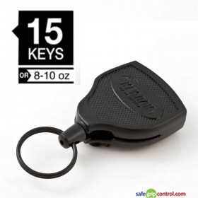 Key-Bak Super 48 can carry up to 15 keys or 10 ounces of portable items