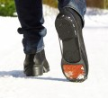 Ice grips for shoes featuring non-slip protection soles for all kinds of slippery surfaces
