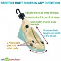 Stretch tight shoes in any direction