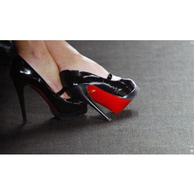 Red Sole Shoe Stickers Instant Christian Louboutin Look